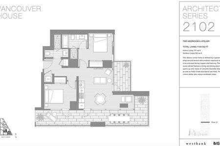 R2341271 - 2102 1480 HOWE STREET, Yaletown, Vancouver, BC - Apartment Unit
