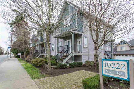 R2342450 - 13 10222 NO. 1 ROAD, Steveston North, Richmond, BC - Townhouse