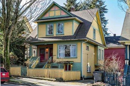 R2344338 - 2213 ONTARIO STREET, Mount Pleasant VW, Vancouver, BC - House/Single Family