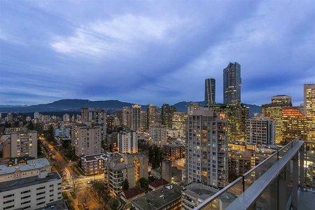 R2345667 - 2205 1028 BARCLAY STREET, West End VW, Vancouver, BC - Apartment Unit
