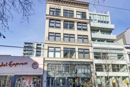 R2345733 - 404 53 W HASTINGS STREET, Downtown VW, Vancouver, BC - Apartment Unit