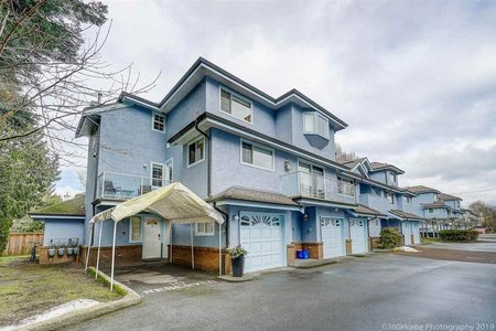 R2346038 - 10 8780 BENNETT ROAD, Brighouse South, Richmond, BC - Townhouse