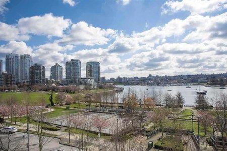 R2351584 - 603 1483 HOMER STREET, Yaletown, Vancouver, BC - Apartment Unit