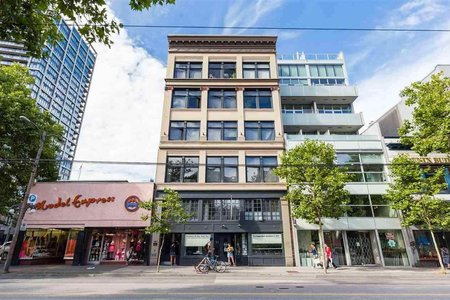 R2351876 - 505 53 W HASTINGS STREET, Downtown VW, Vancouver, BC - Apartment Unit