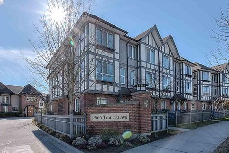 R2353911 - 28 9566 TOMICKI AVENUE, West Cambie, Richmond, BC - Townhouse