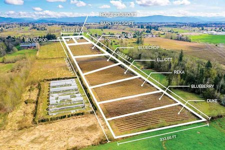 R2356939 - 2921 240 STREET, Campbell Valley, Langley, BC - House with Acreage