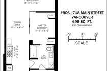 906 718 MAIN STREET, Vancouver - R2357859