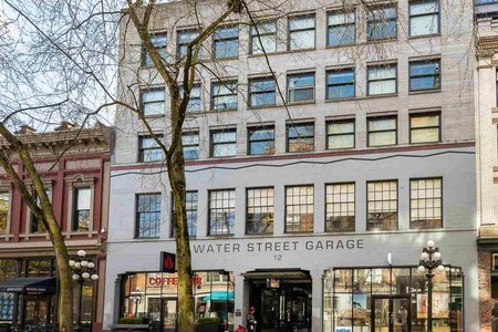 R2359296 - 401 12 WATER STREET, Downtown VW, Vancouver, BC - Apartment Unit