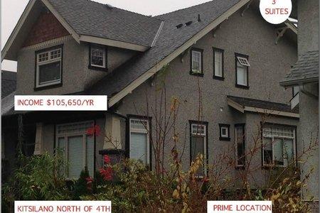 R2360393 - 3562-3570 SW 3RD AVENUE, Kitsilano, Vancouver, BC - House/Single Family