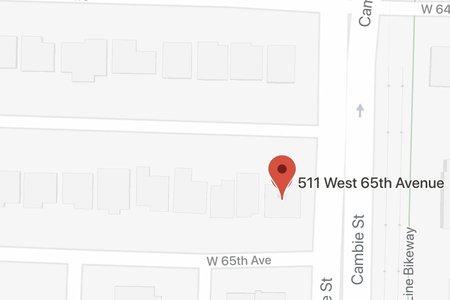 R2365789 - 511 W 65TH AVENUE, Marpole, Vancouver, BC - House/Single Family