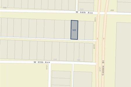 R2366576 - 522 W 64TH AVENUE, Marpole, Vancouver, BC - House/Single Family