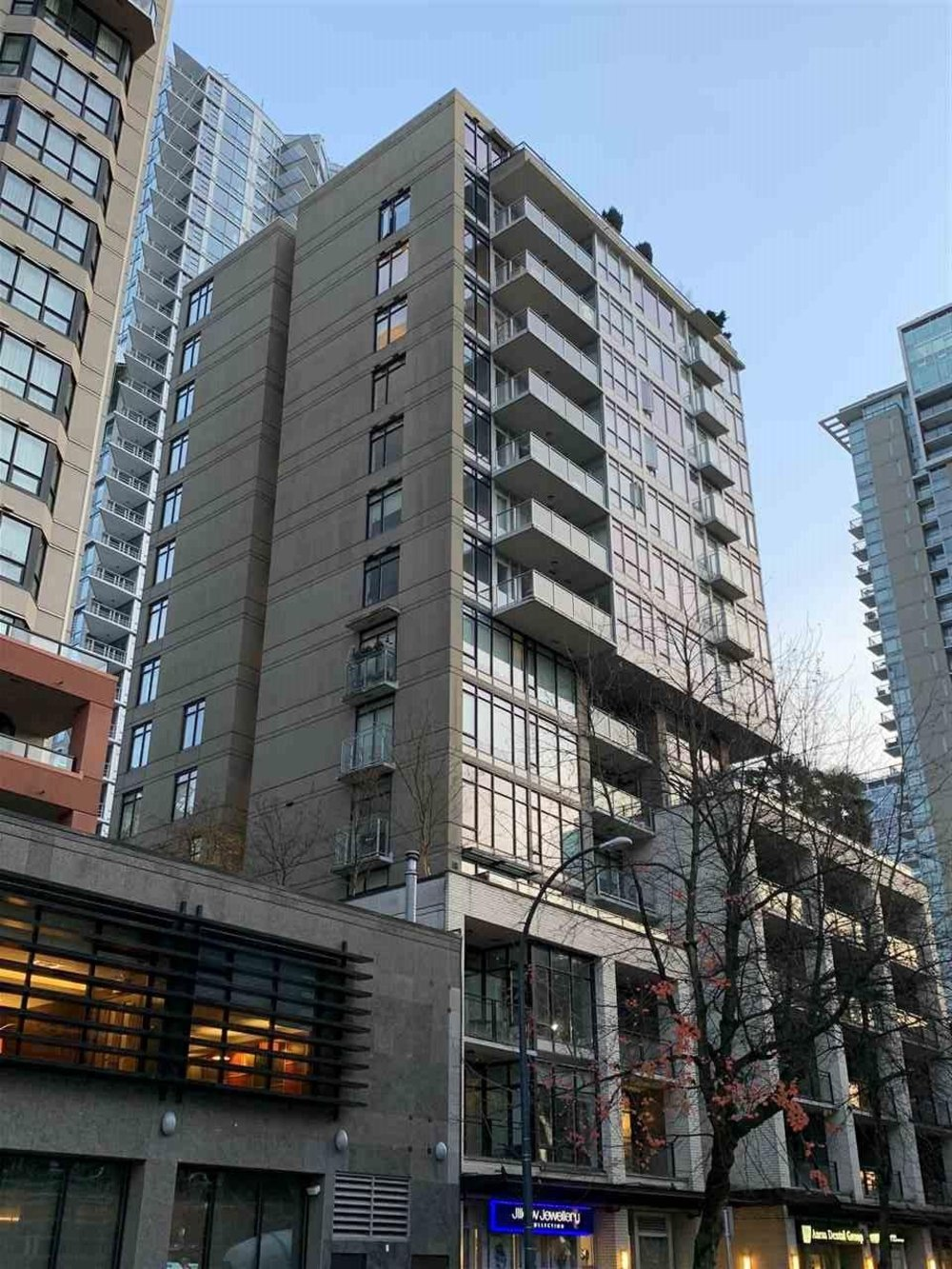 502 1252 Hornby Street, Vancouver - 1 bed, 1 bath - For Sale