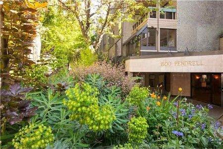 R2368514 - 219 1500 PENDRELL STREET, West End VW, Vancouver, BC - Apartment Unit