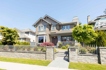 R2368981 - 4061 W 38TH AVENUE, Dunbar, Vancouver, BC - House/Single Family