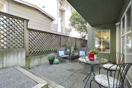 R2370794 - 101 2020 TRAFALGAR STREET, Kitsilano, Vancouver, BC - Apartment Unit