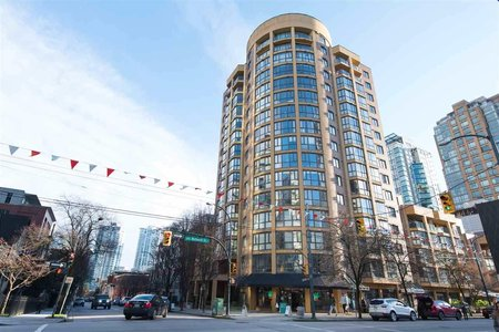 R2371506 - 1002 488 HELMCKEN STREET, Yaletown, Vancouver, BC - Apartment Unit