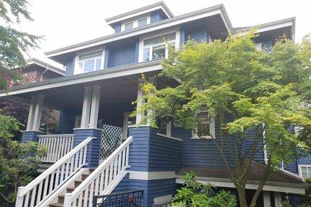 R2373199 - 2 156 W 14TH AVENUE, Mount Pleasant VW, Vancouver, BC - Townhouse