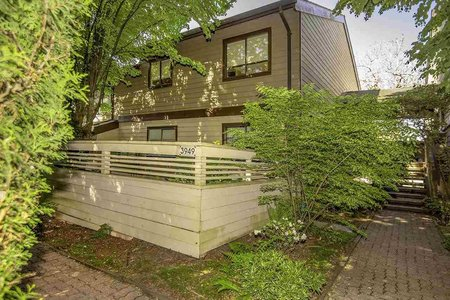 R2375476 - 3949 ARBUTUS STREET, Quilchena, Vancouver, BC - Townhouse