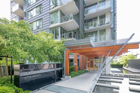 R2375671 - 1606 5728 BERTON AVENUE, University VW, Vancouver, BC - Apartment Unit