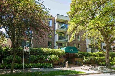 R2376890 - 405 1718 NELSON STREET, West End VW, Vancouver, BC - Apartment Unit