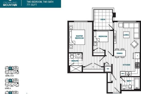 R2378200 - 509 1503 CROWN STREET, Lynnmour, North Vancouver, BC - Apartment Unit
