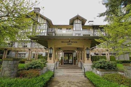 R2381705 - 106 4885 VALLEY DRIVE, Quilchena, Vancouver, BC - Apartment Unit