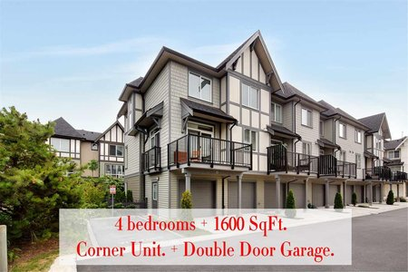 R2385498 - 25 8138 204 STREET, Willoughby Heights, Langley, BC - Townhouse