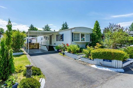 R2389943 - 219 1840 160 STREET, King George Corridor, Surrey, BC - Manufactured