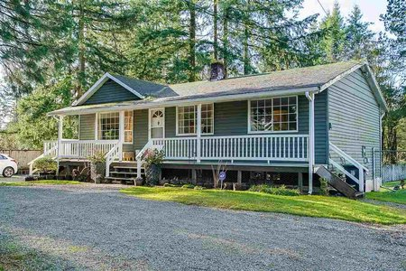 R2392177 - 5461 248 STREET, Salmon River, Langley, BC - House with Acreage