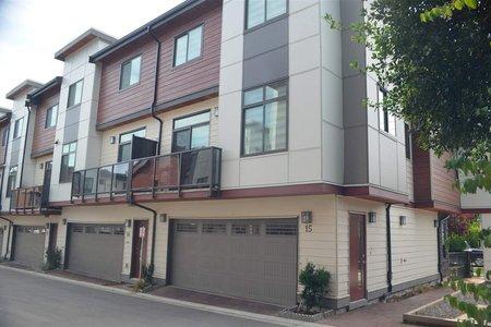 R2392540 - 15 15885 16 AVENUE, Sunnyside Park Surrey, Surrey, BC - Townhouse