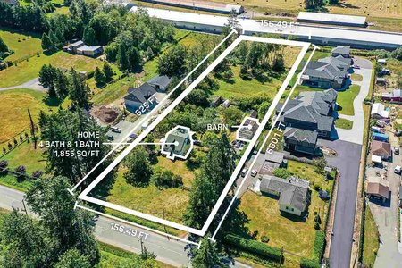 R2393855 - 1337 200 STREET, Campbell Valley, Langley, BC - House with Acreage