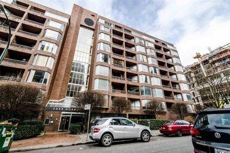R2399361 - 618 1333 HORNBY STREET, Downtown VW, Vancouver, BC - Apartment Unit