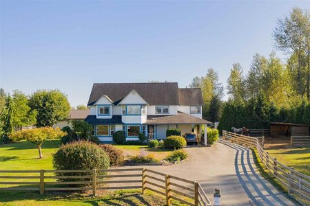 R2400914 - 25350 64 AVENUE, County Line Glen Valley, Langley, BC - House with Acreage
