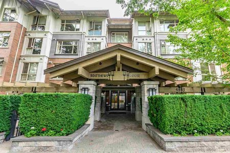 R2404324 - 206 4883 MACLURE MEWS, Quilchena, Vancouver, BC - Apartment Unit