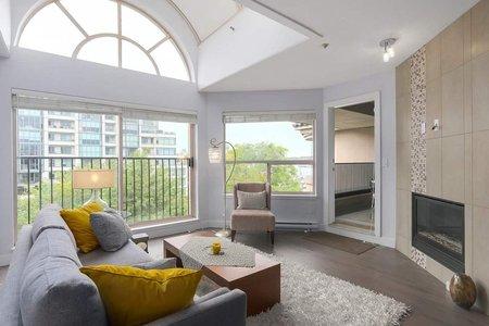 R2407544 - 413 525 WHEELHOUSE SQUARE, False Creek, Vancouver, BC - Apartment Unit