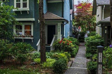 R2409380 - 193 W 13TH AVENUE, Mount Pleasant VW, Vancouver, BC - Townhouse