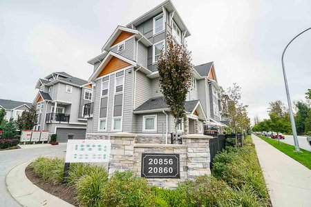 R2411275 - 48 20860 76 AVENUE, Willoughby Heights, Langley, BC - Townhouse