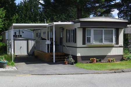 R2411411 - 21 7790 KING GEORGE BOULEVARD, East Newton, Surrey, BC - Manufactured