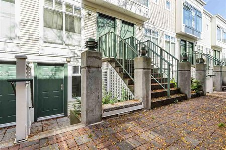 R2412158 - 207 3727 W 10TH AVENUE, Point Grey, Vancouver, BC - Townhouse