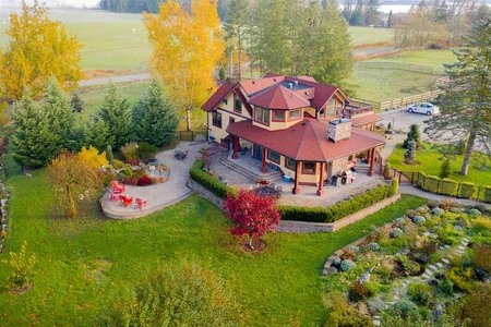 R2415177 - 24680 80 AVENUE, County Line Glen Valley, Langley, BC - House with Acreage