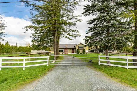 R2425818 - 21379 8 AVENUE, Campbell Valley, Langley, BC - House with Acreage