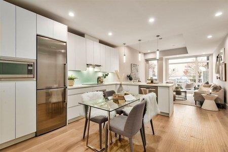 R2427152 - 105 1591 BOWSER AVENUE, Norgate, North Vancouver, BC - Apartment Unit