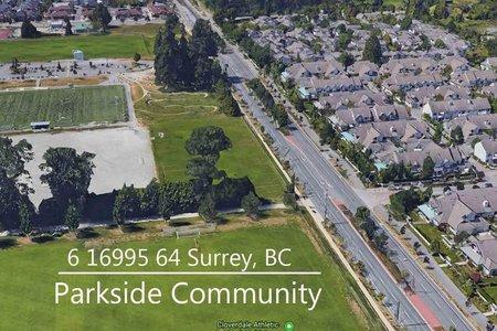 R2427921 - 6 16995 64 AVENUE, Cloverdale BC, Surrey, BC - Townhouse