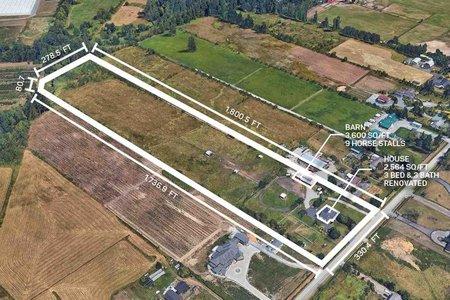 R2428399 - 22173 64 AVENUE AVENUE, Salmon River, Langley, BC - House with Acreage