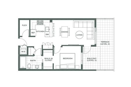 R2428452 - 312 715 W 15TH STREET, Mosquito Creek, North Vancouver, BC - Apartment Unit