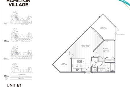 R2430219 - 415 23233 GILLEY ROAD, Hamilton RI, Richmond, BC - Apartment Unit
