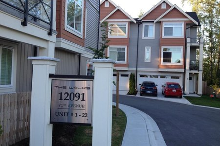 R2430528 - 5 12091 70 AVENUE, West Newton, Surrey, BC - Townhouse