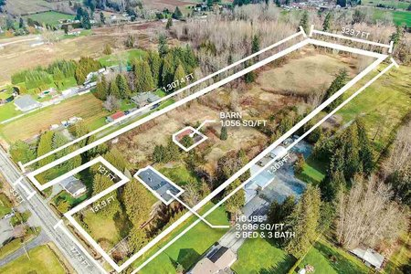 R2434828 - 4270 240 STREET, Salmon River, Langley, BC - House with Acreage