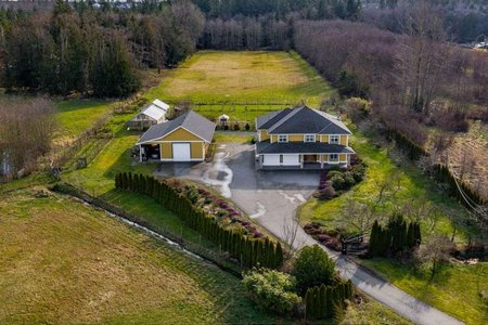 R2435822 - 19776 8 AVENUE, Campbell Valley, Langley, BC - House with Acreage