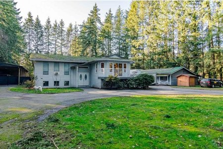 R2437795 - 5559 240 STREET, Salmon River, Langley, BC - House with Acreage